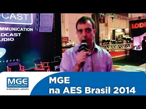MGE Broadcast na AES 2014