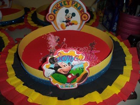 como hacer bandeja decorada para cumpleaños