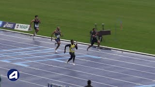 Villeneuve d'Ascq 2019 : 4x100 m M (Sco Marseille en 40''61)