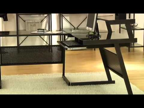 Video for Frosted Glass L Printer Cart