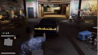WATCHDOGS 2 STOLEN CAR FROM HMP STUDIOS! EASTER EGG!