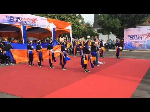 Team defile dance BRI Cab Solok Th 2017