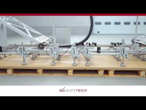 euroTECH Beschickungsanlage für Plattenware