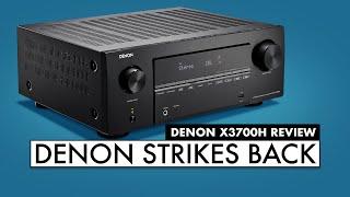 Are DENON RECEIVERS Any GOOD? - DENON X3700H AV Receiver Review!