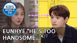 """Eunhye """"He's too handsome!! I can't help it"""" [Happy Together/2018.10.04]"""