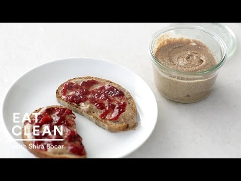 Homemade Almond Butter – Eat Clean with Shira Bocar