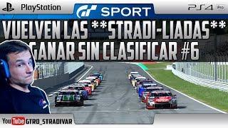 GT SPORT | VUELVEN LAS **STRADI-LIADAS** - GANAR SIN CLASIFICAR #6 | GTro_stradivar Carrera Online