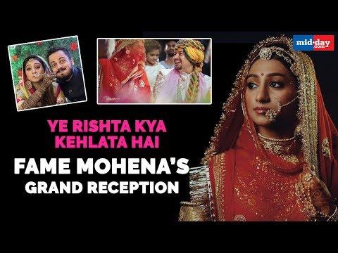 Mohena Kumari Singh has a grand royal reception
