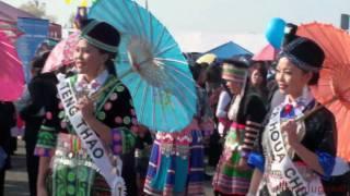 Hmong New Year Sacramento 2008-2009 Miss Hmong California hMoob noj peb caug redo