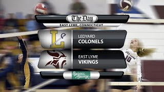Full replay: Ledyard at East Lyme volleyball