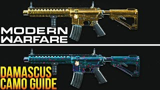 Modern Warfare: The ULTIMATE Damascus Camo Guide