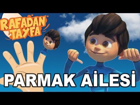 Rafadan Tayfa Parmak Ailesi Şarkısı - Finger Family Türkçe