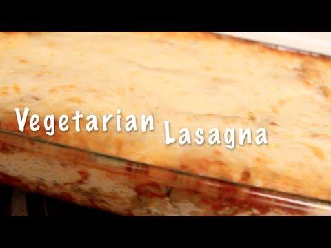 My Vegetarian Lasagna (From Scratch)