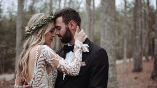 Boho Wedding In The Woods  By Heart Stone Films | Kyle + Danielle