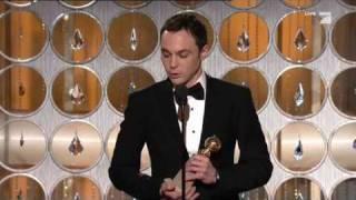 "Video thumbnail of ""Jim Parsons  - Golden Globes Awards 2011"""