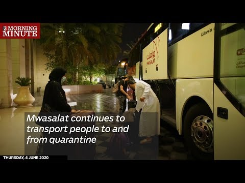 Mwasalat continues to transport people to and from quarantine