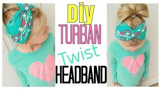DIY TURBAN HEADWRAP | BOHO HEADBAND | BABY HEADBANDS