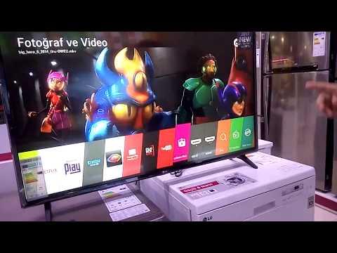 LG 43LJ594V FULL HD SMART TV TANITIM VE İNCELEME