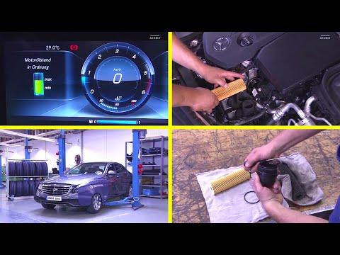 🇩🇪 Motor Öl und Filterwechsel    Typ 213, 253 mit Motor 654
