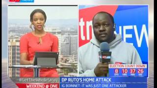 DEVELOPING STORY: Local trader scouts out DP William Ruto's Sugoi home before attack