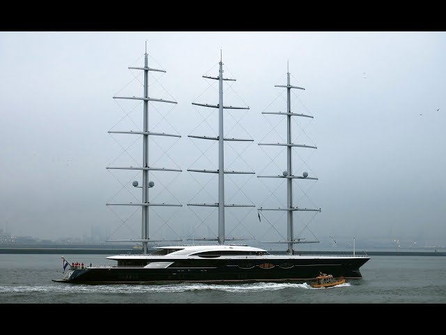 The Maiden Voyage of Oceanco's Black Pearl