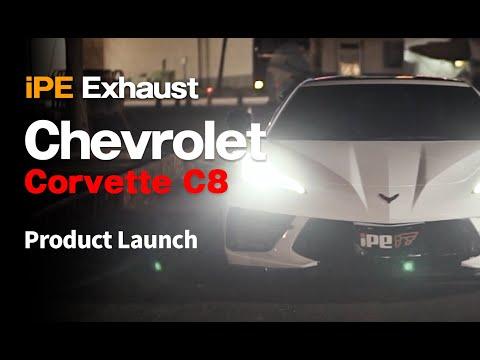 Chevrolet Corvette C8 w/ iPE Exhaust │Valves on 116 dB │PRODUCT LAUNCH