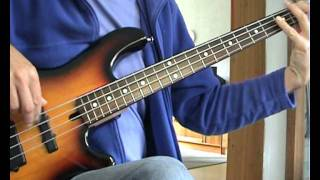 The Four Tops - Bernadette - Bass Cover