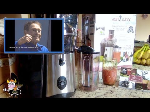 Jack LaLanne Fusion Juicer 100 Anniversary slh90 Review SLH90