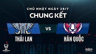 Thái Lan vs Hàn Quốc [Chung Kết Tổng - AWC 2018] - Garena Liên Quân Mobile