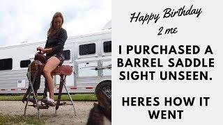 Buying A Used Barrel Saddle