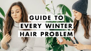 How to Fix Dry Hair, Flaky Scalp, Static, & More!