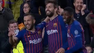 Barcelona Vs Lyon (5-1) Full Highlight & Goals | Champions League 2019