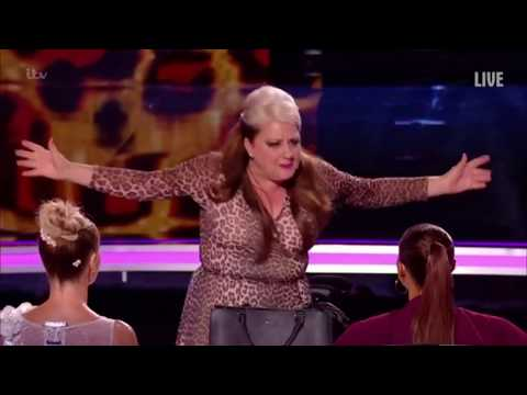 Mandy Muden: This NAUGHTY Magic / Comedian Has Everyone Rolling | Britain's Got Talent 2018 (видео)