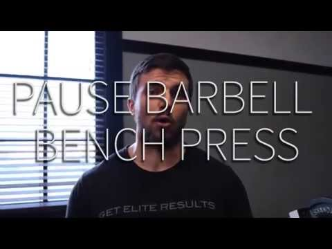 How to Pause Barbell Bench Press - Core Blend Demos