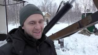 Самодельный экскаватор: копаем снег, строим планы на сезон