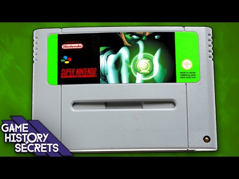 Green Lantern's Cancelled SNES Game – Game History Secrets