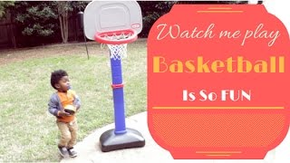 This Toddler Loves Basketball: Little Tikes TotSports Easy Score Basketball Set