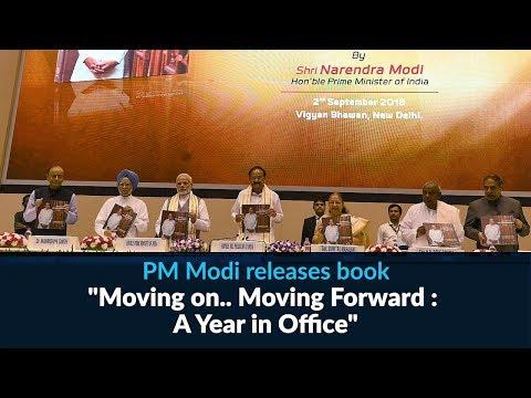 PM Modi releases book