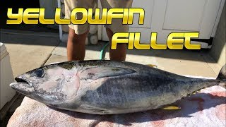 How to Fillet and Prepare Yellowfin Tuna
