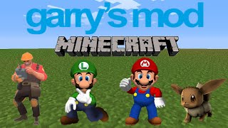 preview picture of video 'Gmod Sandbox: Minecraft, Goldenrod City, Jump Map - W/funkydanny9 | Funny Moments W/download Link'