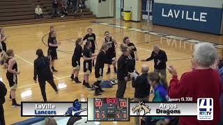 Argos Girls Basketball vs LaVille