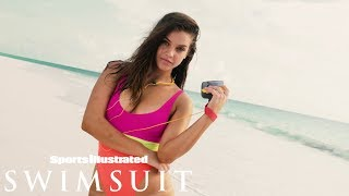 Barbara Palvin Rocks a 90s Look | CANDIDS | Sports Illustrated Swimsuit