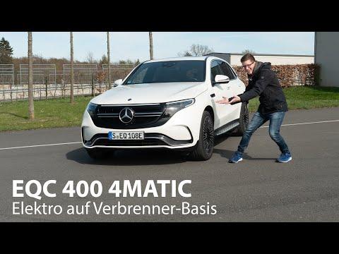 Mercedes-Benz EQC 400 4MATIC Test / Elektroauto mit Vor- und Nachteilen - Autophorie