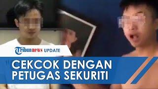 Pernah Hina Presiden Jokowi, Remaja Ini Kembali Buat Heboh, Cekcok dengan Petugas Sekuriti Kompleks