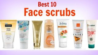 Best 10 Face Scrubs For Oily Skin In India With Price 2018 I Exfoliating Scrub For Glowing Skin
