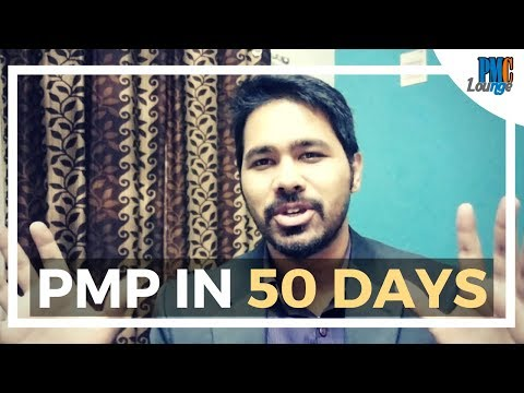 How to get PMP Certification in 50 days | My PMP Certification ...