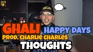Ghali   Happy Days (Prod. Charlie Charles) THOUGHTS