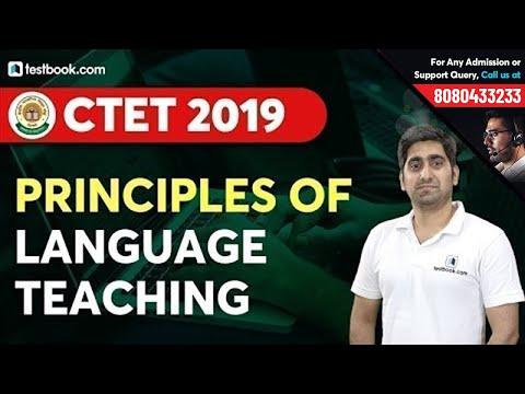 Principles of Language Teaching in English Pedagogy   Based on CTET Syllabus 2019   Nitin Sir