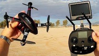 Cheerson CX-23 Small GPS FPV Explorer Drone Flight Test Review