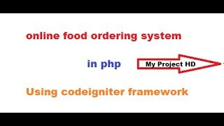 hotel management system project in php (codeigniter project tutorial